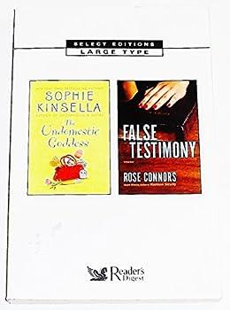 The Undomestic Goddess & False Testimony  Select Editions Vol 1