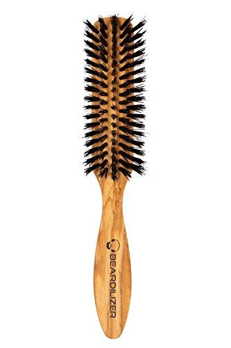 Beardilizer ®-Brocha para afeitado, 100% pelo de jabalí