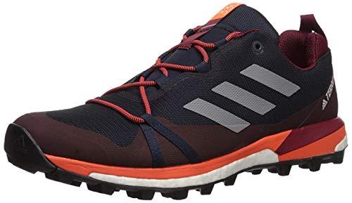 adidas outdoor Men's Terrex Skychaser LT Athletic Shoe, Legend Ink/Grey Two/Active Orange, 10 D US