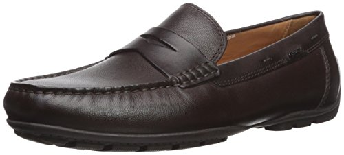 Geox U Moner 2FIT A, Mocasines Hombre, Marrón (Chocolate C6005), 39 EU