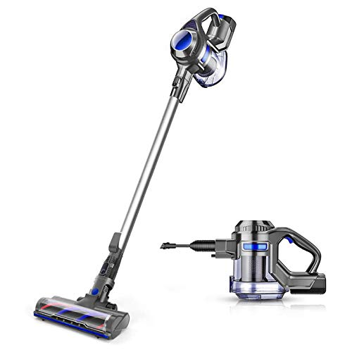 MOOSOO Cordless Vacuum 4 in 1 Powerful Suction Stick Handheld Vacuum...