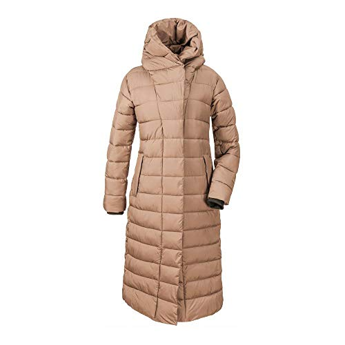 Didriksons Damen Steppmantel Stella WNS Coat 2 beige Storm - 38
