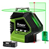 Best Laser Line Levels - Huepar Self-Leveling Green Laser Level Cross Line Review