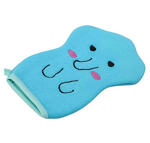 Serviette de bain pour enfants, gants de bain exfoliants pour bébé, dessin animé mignon, C02