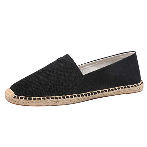 Cheapest Price! Couple Loafers Flat-Bottomed Shoes Durable Casual Loafers Men and Women Fashion Non-...
