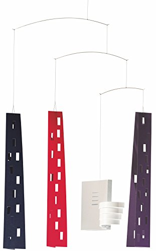 Flensted Mobiles Guggenheim Building Hanging Mobile - 24 Inches...