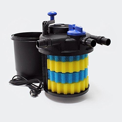 SunSun CPF-5000 Druckteichfilter UVC 11 W 9000 L/h Teich Filter Teichfilter - 2