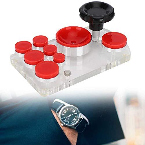 ZJchao Watch Back Opener, Silicona sin rasguños Watch Back Cover Opener Remover Herramienta de reparación de Relojes Accesorio para un Mantenimiento más Compacto