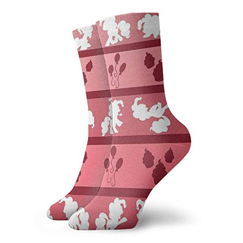 AEMAPE Pinkie Pie Pattern Calcetines Classic Comfort Athletic Casual Calcetines para hombres y mujeres unisex
