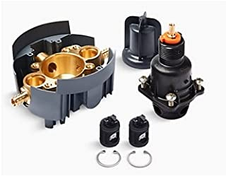 Kohler K-8304-PS-NA Rite-Temp Valve Body and Pressure-Balance Cart. Kit with Service Stops and PEX Crimp Connections