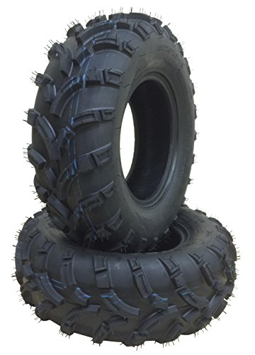Set of 2 New WANDA ATV/UTV Tires 25x8-12 /6PR P373 - 10243 …
