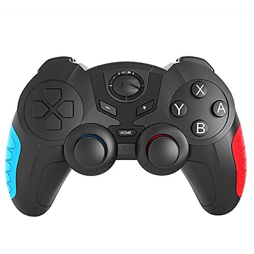 Zexrow Mando para Nintendo Switch, Mando Pro Controller Mando Pc Inalambrico con Función Gyro Axis/Dual Shock Y Turbo Compatible con Nintendo Switch (Color : Type C)