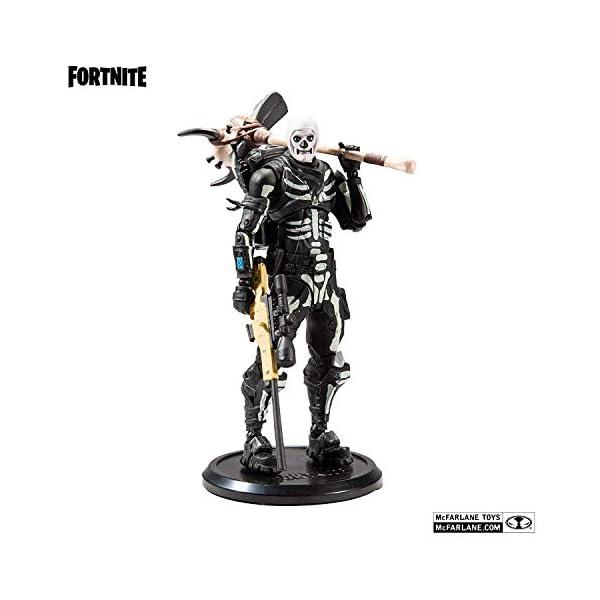 Fortnite - Figura articulada Skull Trooper 18cm 1