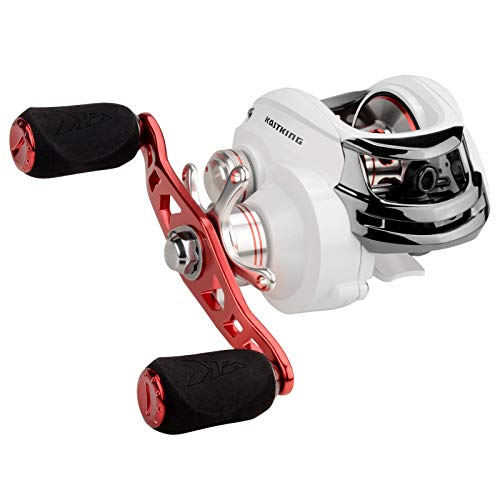 KastKing WhiteMax Baitcasting Fishing Reel,5.3:1 Gear Ratio,Right Handed Reel