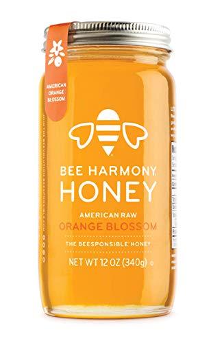 Bee Harmony American Raw Orange Blossom Honey