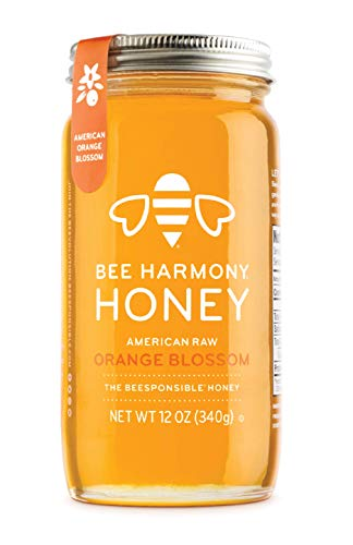 Raw Orange Blossom Honey, 12 Ounce