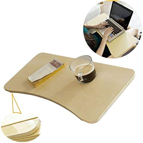 SoBuy FBT33-N, Wooden Tray Table Stand Notebook Tray, Only Fits to Rocking Chair