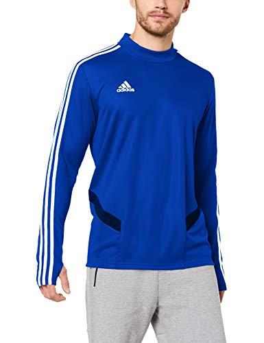 adidas Tiro 19, Maglia da Allenamento Uomo, Bold Blue/Dark Blue/White, XL
