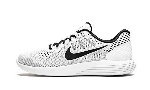 Nike Mens Lunarglide 8 White/Black Aa8676 101 - Size 12.5