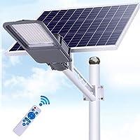 アップグレードソーラーフラッドストリートライト1000W 1200W屋外スーパー明るいセキュリティフラッドライトIP66リモコン、LEDの太陽極ライト内蔵バッテリー,1000w