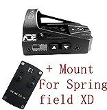 Ade Advanced Optics Delta RD3-012 Red Dot Reflex Sight for Springfield XD Pistol