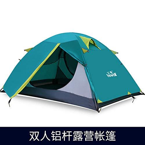 SDSA Outdoor-Zubehör2-Personen-Campingzelt, Professionelles Camping-Kletterzelt, Outdoor-Freizeit 200 * 140 * 110cm
