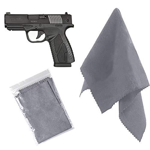 2 Pack Gun Cleaning Cloth, Care Microfiber Silicone Reel Gun...