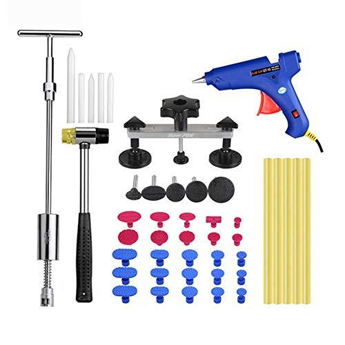 Sommer\'s Laden 44 STÜCKE Dent Puller Kit, Auto Body Repair Kit, Dent Remover für Car Body Repair Kit