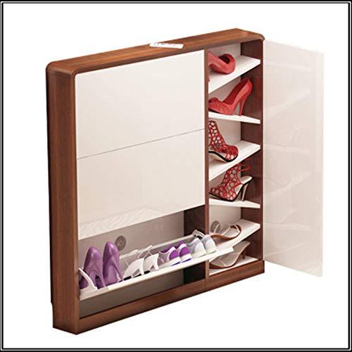 Dump schoenenkastdeur ruimtebesparend huis ultradunne zuinige eenvoudige multifunctionele schoenenkast met grote capaciteit, eenvoudig opslagbeheer, maak je geen zorgen over het neerzetten