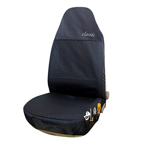 EUGAD 0112QCZT Auto Sitzbezüge Einzelbezug Werkstattschoner Sitzschoner Weiß