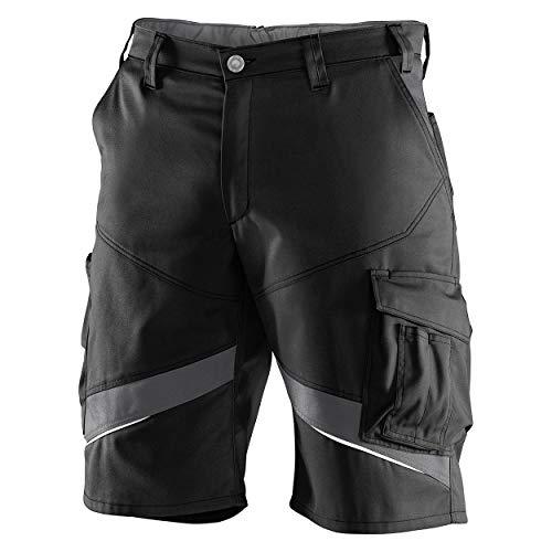 KÜBLER ACTIVIQ Shorts, Farbe: Schwarz/Anthrazit, Größe: 56