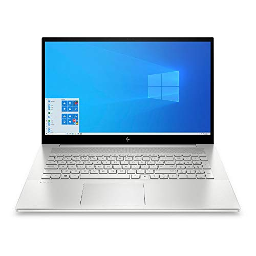 HP ENVY 17-cg1276ng (17,3 Zoll / FHD IPS) Laptop (Intel Core i7-1165G7, 16 GB DDR4, 1 TB SSD, NVIDIA GeForce MX450 (2 GB GDDR5), Windows 10 Home) Silber