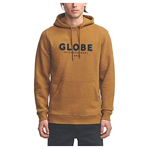 Globe Mod V Hoodie Sudadera, Hombre, Pecan II, M