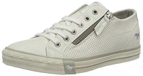 Mustang Damen 1146-302-1 Sneakers, Weiß (weiß 1), 37 EU