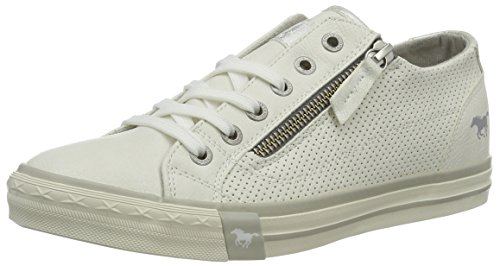 Mustang Damen 1146-302-1 Sneakers, Weiß (weiß 1), 38 EU