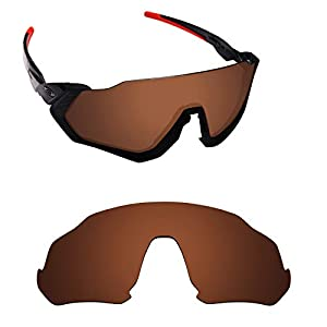 Alphax Polarized Replacement Lenses for Oakley Flight Jacket OO9401 – Options