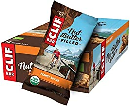 Clif Nut Butter Filled Energy Bars Peanut Butter Flavour Box of 12 Estimated Price : £ 25,22