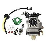 Carburador para cortador de cepillo 52cc 49cc 43cc Carbu Kit, herramienta de jardín Carburador con...