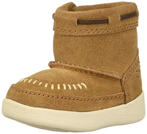 UGG Unisex Baby I CALI MOC Campfire Fashion Boot, Chestnut, 0/1 M US Infant