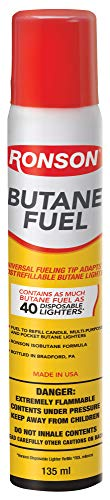 Ronson 78RBF Multi-Fill Butane Fuel, 135ml