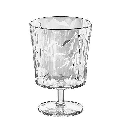 koziol 3577535 Crystal 2.0 S Glas 250 ml, Thermoplastischer Kunststoff, transparent, 8.4 x 8.4 x 12 c m