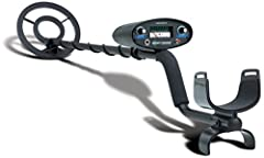 Rugged metal detector ideal for detecting treasure in extreme ground conditions Motion All-Metal mode, Discrimination mode, and 2-Tone audio mode.Larger objects up to 3 feet Preset ground balance neutralizes response to mineral content in the ground ...