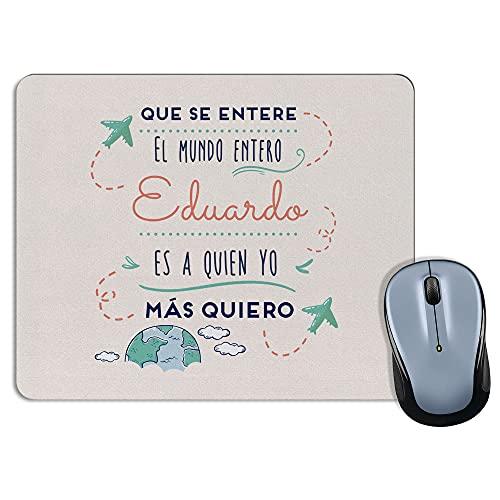LolaPix Alfombrilla ratón Día del Padre. Regalos Personalizados. Alfombrilla ratón. Regalo Original. Padre. Madre. Varios diseños. Mundo Rosa