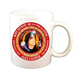 N\A Alice Cooper 70 's Singer Cup Astrología Acuario Zodíaco Tierra Rata