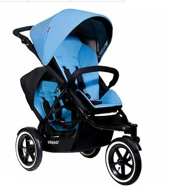 Phil and Teds Navigator Stroller with Face to Face Seat (Sky)