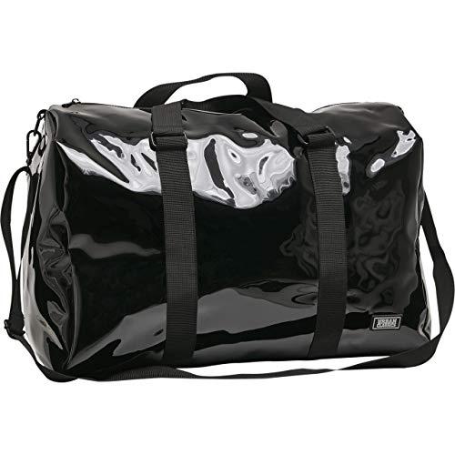 Urban Classics Transparent Duffle Bag Rucksack, 48 cm, 38 L, Black