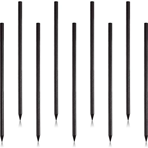40 Pieces Vintage Wood Hair Sticks Pencil Hair Sticks Chopstick Hair Clip Long Hairpins, Chinese Hair Chopsticks for Women and Girls Bun Hairstyles Decorative Holder, Black
