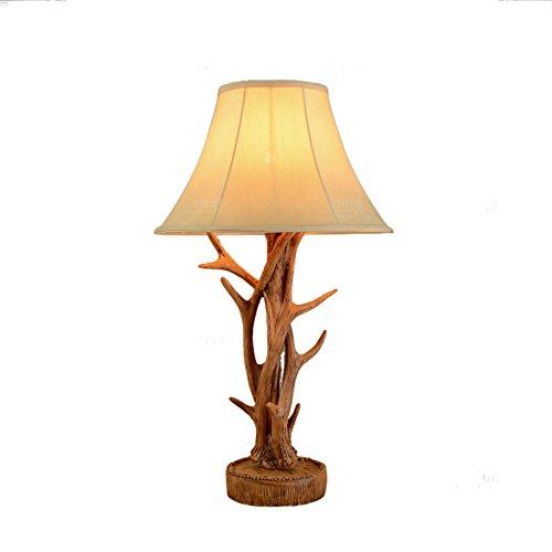 ZWL Lampe de table décoratif décoratif, étude créative Salle de séjour Villa Lampe en résine Hôtel Studio Table à manger Lampe de table Bouton d'alimentation 40 * 71cm fashion.z (taille : 40 * 71cm)