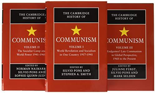 The Cambridge History of Communism 3 Volume Hardback Setの詳細を見る