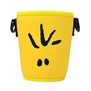 ドリンクポシェット スヌーピー ドリンクホルダー カップショルダー SNOOPY PEANUTS コーヒーカップ ボトルショルダー かわいい ミニボトル カップ